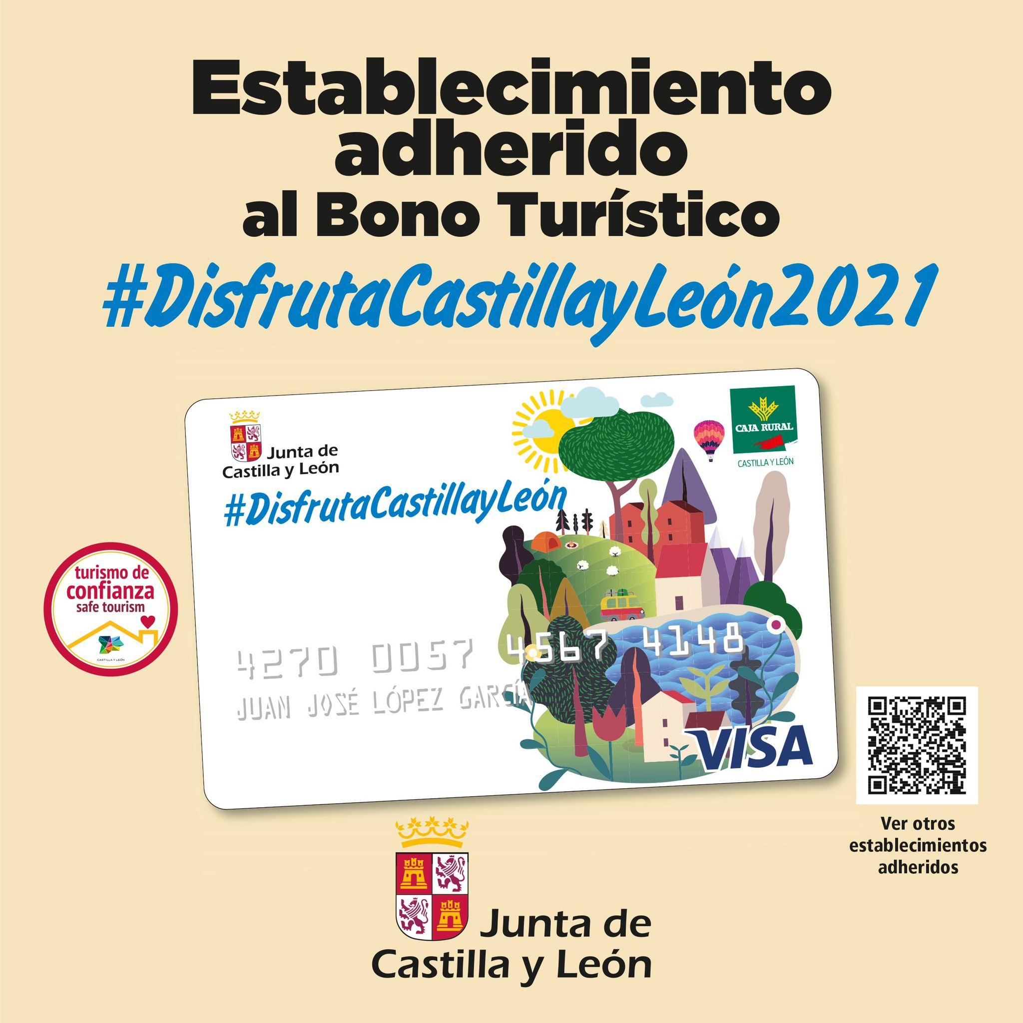 Establecimiento adherido al bono turístico Castilla y León